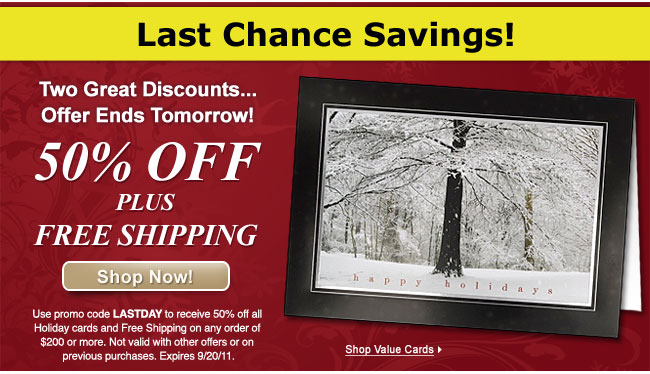 Last Chance Savings